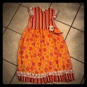 ZAZA Couture colorful girls dress